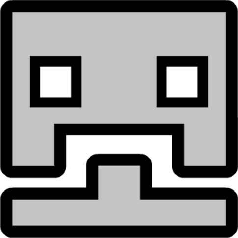 artistic references - Geometry Dash Icon Coloring Pages